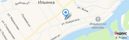 Ильинская основная общеобразовательная школа на карте Бедарево