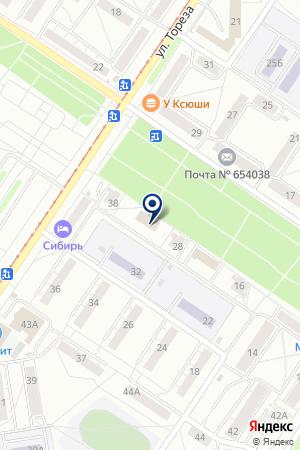 МАГАЗИН АВТОЗАПЧАСТЕЙ ГАРАНТАВТО на карте Новокузнецка