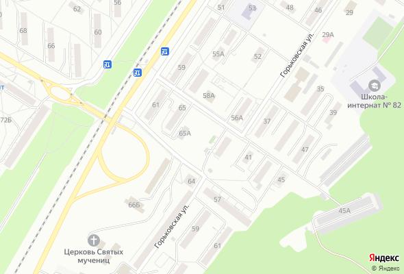 жилой комплекс Горьковская, 60а