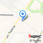 Золушка на карте Новокузнецка