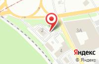 Схема проезда до компании СТС-автомобили в Новокузнецке