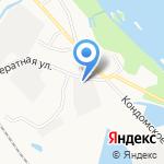 Автосервис на карте Новокузнецка