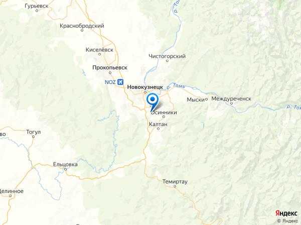 ДСК Горняк на карте