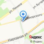 Гламур 2 на карте Новокузнецка