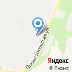 Континент на карте Новокузнецка