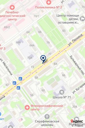АВТОСТАНЦИЯ Г.БЕЛОЯРСКИЙ на карте Белоярского