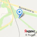 Дельфин на карте Новокузнецка