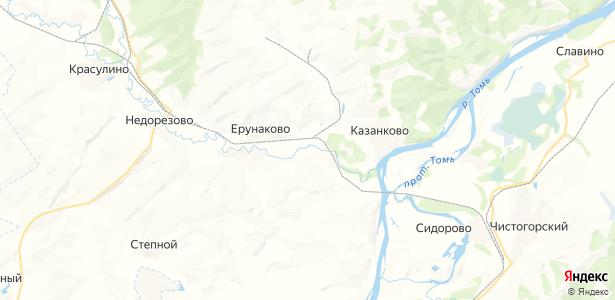 Иганино на карте