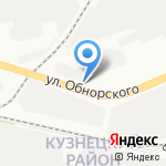 За Рулем на карте Новокузнецка