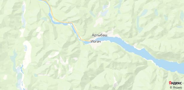 Иогач на карте