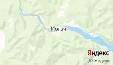 Отели города Иогач на карте