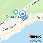 Усадьба Спиридоновны на карте Артыбаша