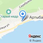 Туристический комплекс Андрея Кыргызакова на карте Артыбаша