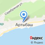 Магазин строительных материалов на карте Артыбаша