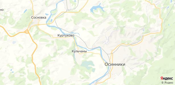 Ашмарино на карте
