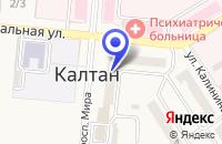 Схема проезда до компании КОЛЛЕГИЯ № 107 КОЛЛЕГИЯ АДВОКАТОВ в Калтане