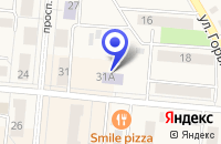 Схема проезда до компании МУК ШКОЛА № 42 ДЕТСКАЯ ШКОЛА ИСКУССТВ в Калтане