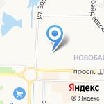 Юлия на карте Новокузнецка