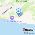Телецкий+ на карте Артыбаша