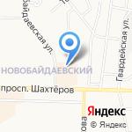 Легенда на карте Новокузнецка