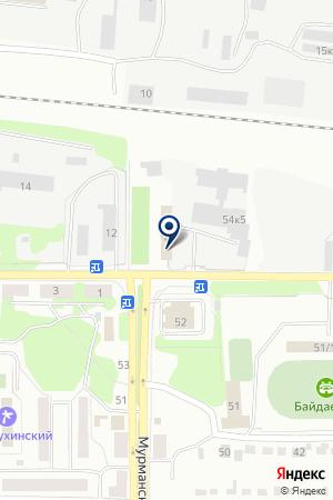 СТРОИТЕЛЬНАЯ ОРГАНИЗАЦИЯ НОВОКУЗНЕЦКРЕМСТРОЙ-Н на карте Новокузнецка