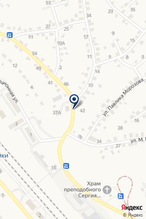 ВОДОКАНАЛ на карте Осинников