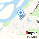 Терехинский детский сад на карте Новокузнецка