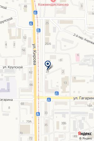ГУ ВОЕНКОМАТ ОБЪЕДИНЕННЫЙ ВОЕННЫЙ КОМИССАРИАТ Г.ОСИННИКИ на карте Осинников