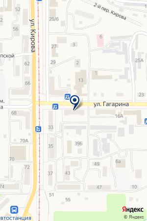 МП КОМХОЗ УПРАВЛЕНИЕ ГОРОДСКОГО ХОЗЯЙСТВА на карте Осинников