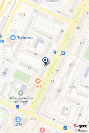 ТФ ЕВРООКНА на карте Осинников
