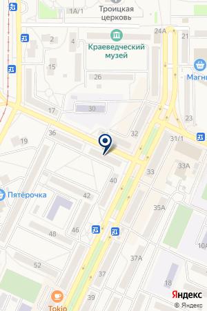 АПТЕКА МИР МЕДИЦИНЫ на карте Осинников