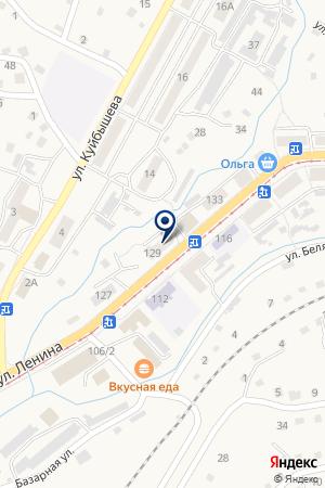 МАГАЗИН ОРХИДЕЯ на карте Осинников