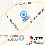 Регги на карте Новокузнецка
