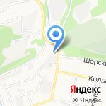 Хрипкова Л.А. на карте Новокузнецка