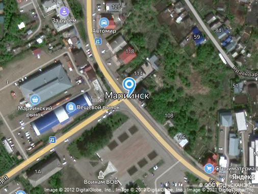 Продам торговый комплекс, 3000 м², Мариинск