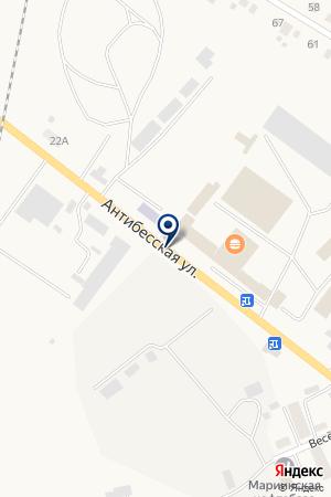 АЗС ПЕРЕКРЕСТОК ОЙЛ на карте Мариинска