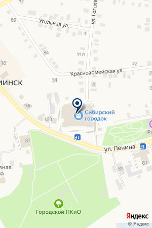 МАГАЗИН ЛАДА на карте Мариинска