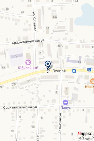 МАГАЗИН СТРОЙХОЗТОВАРОВ ТЫСЯЧА МЕЛОЧЕЙ на карте Мариинска
