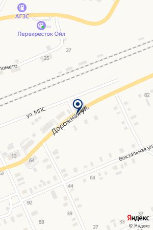 МАРИИНСКТРАНСГАЗ на карте Мариинска