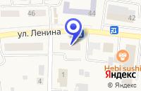 Схема проезда до компании МАГАЗИН ЯШНА в Мариинске