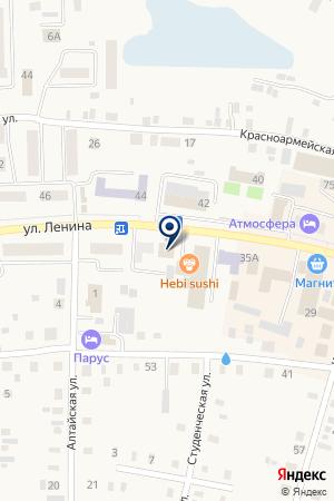 БАНК КЕДР на карте Мариинска