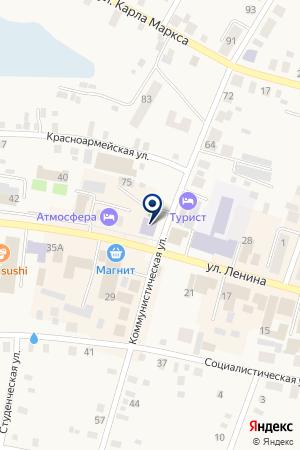 АПТЕКА БАХТЕЕВА Т.А. на карте Мариинска