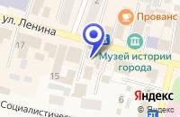 Схема проезда до компании МАГАЗИН КОМПОНЕНТ в Мариинске