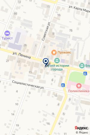 ЮРИДИЧЕСКИЙ ЦЕНТР ГАРАНТ на карте Мариинска