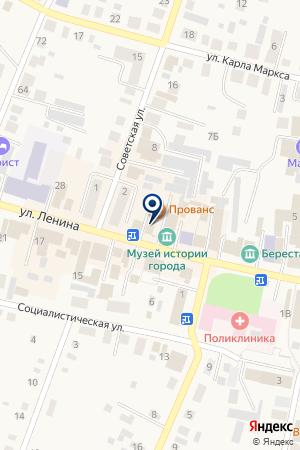 НОТАРИУС КЛИМОВА Н. Н. на карте Мариинска
