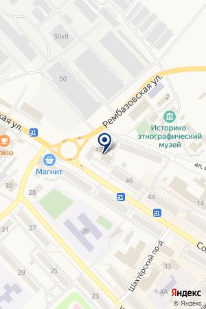 СУПР на карте Мысков