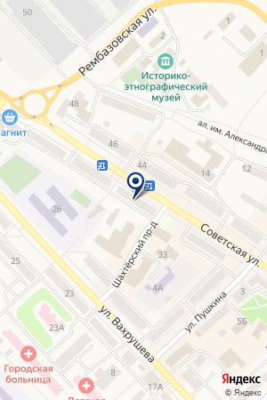 АВТОСАЛОН БУМЕР на карте Мысков