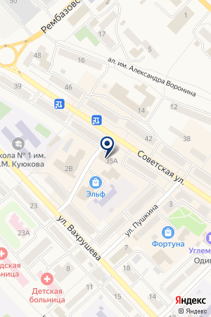 САЛОН СВЯЗИ ЕВРОСЕТЬ на карте Мысков