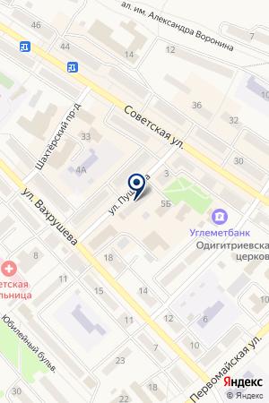 МЫСКОВСКИЙ РЫНОК на карте Мысков