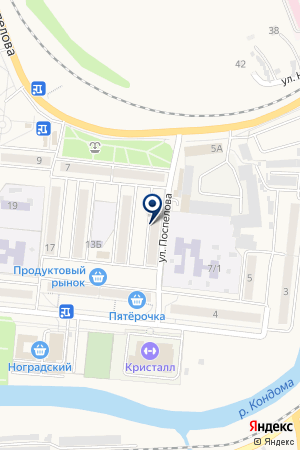 РЕСТОРАН КЕДР на карте Таштагола